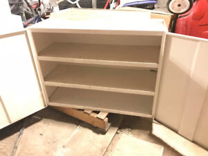 "Cabinet steel_ white colour_  33"" (W) x 13""(D) x 24""(H) $35"