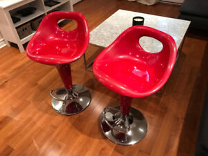 Beautiful Bar stools - Beaux tabourets de bar (Structube)