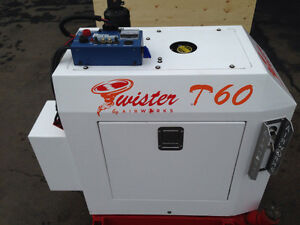 Twister T-60 compressor and welder in one