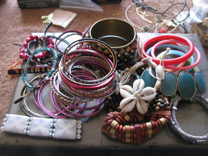 42 Bracelets of various styles.