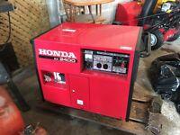 Honda ex 2400 gas generator