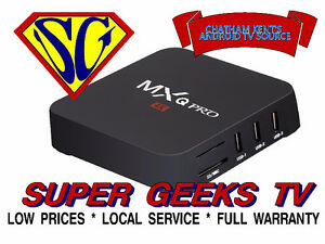 ANDROID TV BOX - NEW VERSION OF: MXQ PRO QUAD CORE