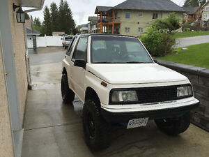 1992 Chevrolet Tracker Convertible