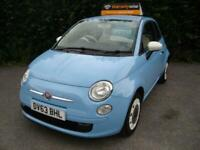 2013 Fiat 500 1.2 Colour Therapy 3dr HATCHBACK Petrol Manual