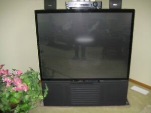 Large Box Projection TV