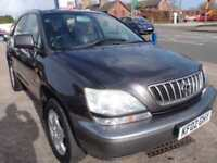 2002 02 LEXUS RX 3.0 300 SE 5D AUTO 199 BHP
