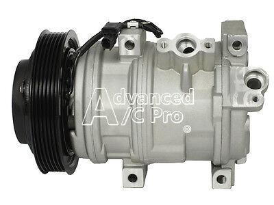 New AC A/C  Compressor Fits:  2010 - 2013 Acura ZDX / 2007 - 2013 Acura MDX / V6