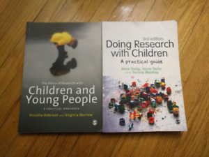 3rd year children, childhood, and youth studies textbooks
