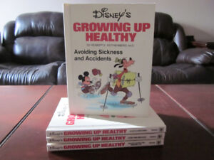 Disney's Growing Up Healthy Books