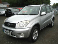 "2005/54 Toyota RAV4 2.0 VVT-i XT3 5 Door in Met Silver "" ONLY £2295 """