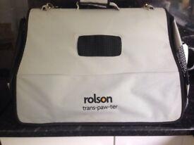 Ralson Trans-Paw-Ter Dog Travel Bag