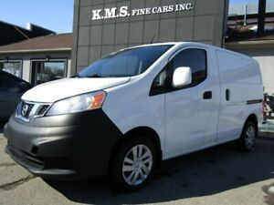 2015 Nissan NV200 S CERTIFIED/ ACCIDENT FREE/ PARKING SENSOR