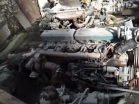 Scania 113 engine gearbox