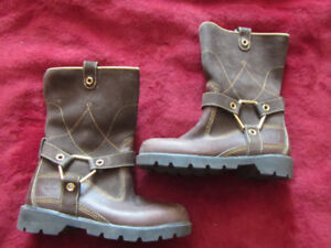 Timberland boots, leather, kids size 13
