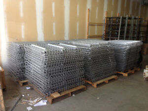 "BEST PRICES FOR 36"", 42"" and 48"" DEEP WIRE MESH DECKS"