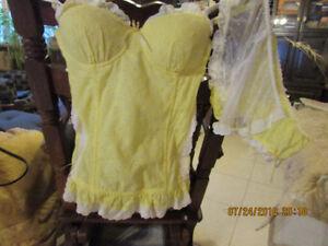 Sexy BLUSH corset &; panties