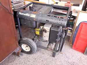 IN WORKING CONDITION  HOME LITE GENERATOR  5 HP $220.00