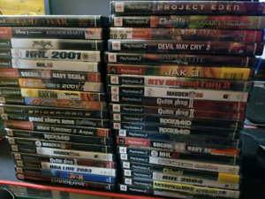Ps2 games $2 each