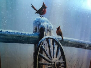 jerry yarnell tutorial of wagon wheel in snow