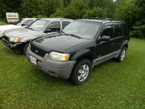 2001 Ford Escape XLS SUV, Crossover