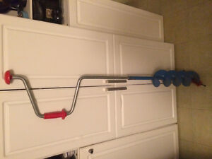 "6"" ice auger for ice fishing"