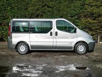 2011 (60) RENAULT TRAFIC SL27+ SWB 5 SEAT WHEELCHAIR / DISABLED ACCESS MINIBUS