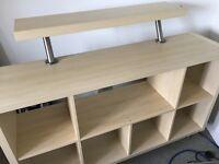 IKEA Kallax with extra shelf