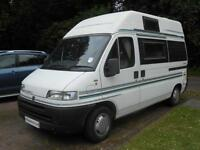 Bessacarr E350 2 Berth Campervan. 3 Travelling Seats with Seat Belts