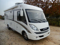 Hymer B678 Premium Line 4 berth rear fixed bed LHD Motorhome For Sale
