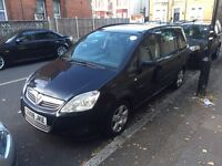 Vauxhall Zafira Exclusive 1.8 petrol PCO licensed For Sale