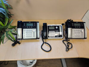 RCA 25423RE1 4-Line Corded PhoneBUSINESS SYSTEM 3 Phones