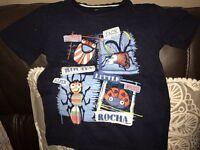 T-shirt Age 4-5 little John rocha range