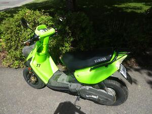 Yamaha BWS 70 Tres propre vert fluo