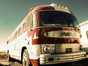 1953 GMC ex Greyhound bus