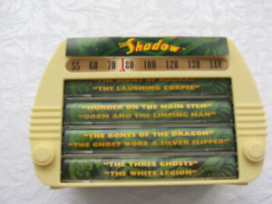 THE SHADOW  60 MIN.CASSETTES NEW IN COLLECTOR BOX
