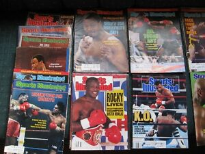 SPORTS MAGS - BOXING - FOOTBALL - VINTAGE - REDUCED!!!!