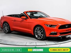 2016 Ford Mustang EcoBoost Premium AUTO CUIR CONVERTIBLE NAVIGAT