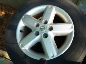 Nissan Aluminum Wheels and Tire Covers