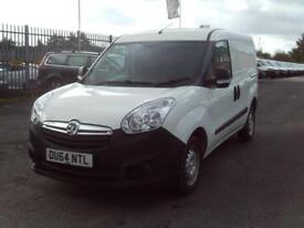 Vauxhall Combo 2000 1.3cdti H1 L1 90ps DIESEL MANUAL WHITE (2014)