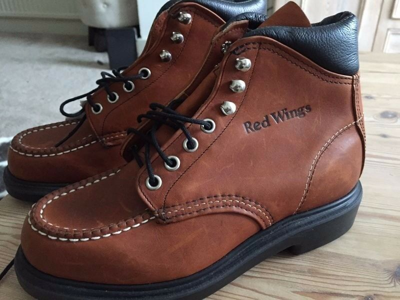 Brand New Red Wing Super Sole Boots Size 4 - £40