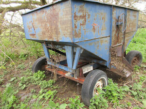 Farming equipment- grain wagon
