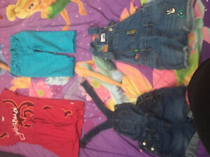 Lot de vêtements fille 5ans