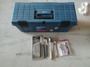 Master-craft large tool box in good condition