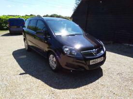 2010 60 Vauxhall Zafira 1.9CDTi ( 120p) Exclusiv 7 SEATS 57000 MILES