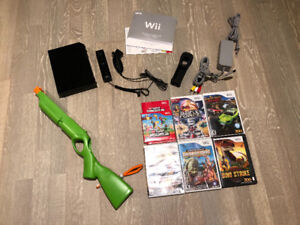 Nintendo Wii Game Console, Accessories and Games - Complete