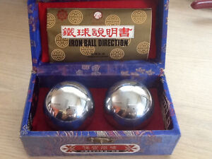 Chinese Boarding Iron Hollow Ball With Sounding Plate in it