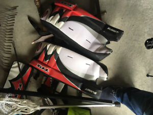 6-12 juvenile lacrosse hockey equipment in great condition