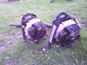 2 Echo PB620 Backpack Blowers. Cheap - $140 for the pair