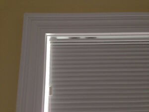 Large Custom Honeycomb Blackout Window Blind