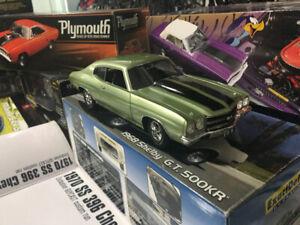 Chevrolet Chevelle 1970 ss 396 Guy Diecast 1/18 1 de 396